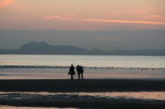 Photographing the photographers by James Campbell Andrew - Arthur's Seat seen from Fife