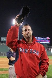 Tim Wakefield's 200th Win. Thanks, Wakey! On and off the field, you are a man among men.