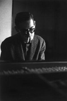 "barcarole:  "" Bill Evans in 1963, by Jim Marshall.  """