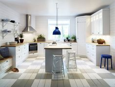 Modern country style kitchen by Vedum