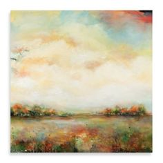 Portfolio Canvas Decor Open Sky Framed and Stretched Wall Art, Large, 35 by Large Wall Art, Metal Wall Art, Painting Frames, Painting Prints, Beautiful Landscapes, Impressionist, Bedding Shop, Abstract Art, Canvas Art