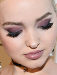 dove cameron dove cameron eye shadow lashes red carpet makeup celeb celebrity celebritycloseup