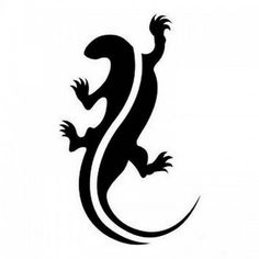Tatouage gecko classique 4
