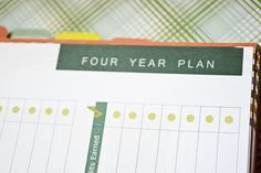 college preparation - the well planned day high school 4 year plan
