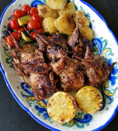 Thibeault's Table: Grilled Quail