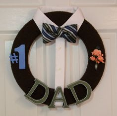 Hey, I found this really awesome Etsy listing at https://www.etsy.com/listing/226593192/fathers-day-wreath