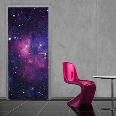 50 Outstanding Wall Decorations - These Unusual Wall Decals Will Bring Out Your Home's Personality (TOPLIST) Galaxy Decor, Galaxy Theme, Wall Art Decor, Wall Murals, Room Decor, Wall Decorations, Galaxy Wallpaper, Wall Wallpaper, Galaxy Bedroom