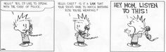 Getting ready for school from Calvin's perspective!