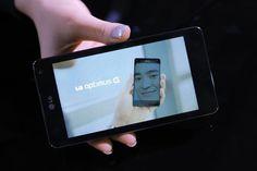 """Optimus G""- LG's latest smartphone"