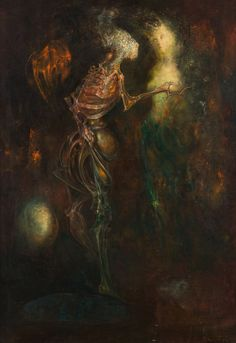 Leonor Fini, L'Amour sans condition, (1958)