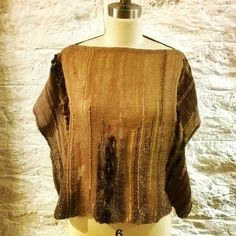 New blouse for spring has been up! It'll be on sale at a boutique in Harlem soon!! #weaving#handmade#blouse#Harlem#madeinnyc#rustic#luxury#comfortable#natural#organiccolor#shinonyc