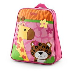 Personalized girls backpack