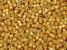 8g Galvanized Bright Gold Delicas