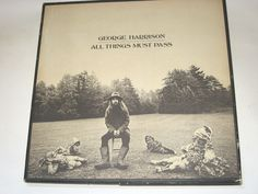 George Harrison - All Things Must Pass , 3x Lp no Poster
