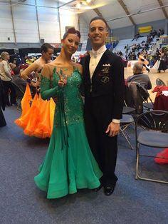 Complimenti da Rosso Latino a Matteo Scotto e Samanta Salatin  per il 3 posto all'nternational Rising Star Standard di Parigi! #RisingStar #SaphirCup #RossoLatino #testimonial #danceshoes