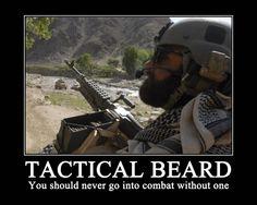 Tactical Beard Moto