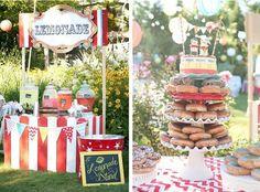 Carnival themed wedding via Kara's Party Ideas -