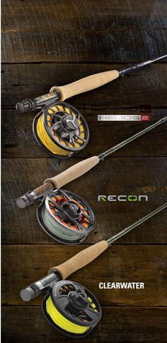 Orvis rods. Their best selling rods with a 25 year guarantee!