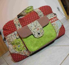Kerstins bunte Welt: Little Holiday Bag