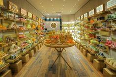 Interior da nova loja The Body Shop em Porto Alegre ©Divulgação