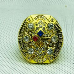 eaf66a0cb NFL Football  superbowl 2008  pittsburghsteelers Steelers  championship   rings Color Gold – 4. 4 Fan Shop