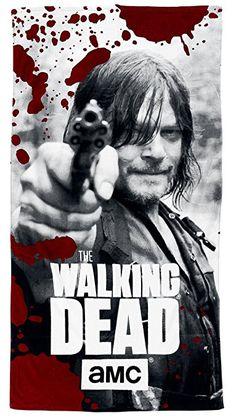 The Walking Dead Strandlaken schwarz/rot