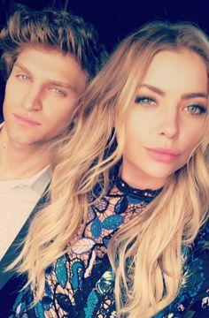 Hanna (Ashley) and Toby (Keegan)