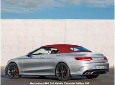 The Mercedes-AMG S63 Cabriolet Edition 130 celebrates the invention of the car