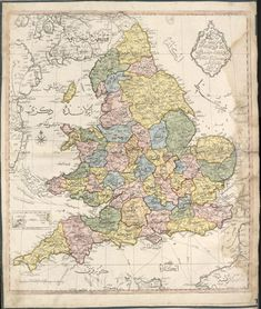 Ottoman map of England and Wales (1803)