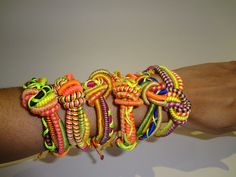 Living Color - Love Knot Bracelets by Ariela Suster