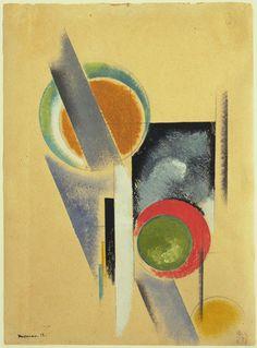 Aleksandr Rodchenko. Composition. 1919
