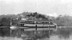 Famed Delta Queen...Thank the Feds this boat no longer runs the Mississippi River.