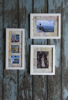 Globetrotter Photos.  I know you have a lot of pics and its a fun idea for your new place! :) @Susannah Whitcomb