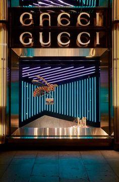 Gucci London - AW 2015-16 #Retail #Store #Windows