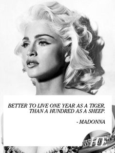Quote of the Day: Madonna