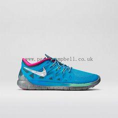 Fashion Girls Missy's Nike Free 5.0 (Doernbecher) Blue Lagoon/Fiberglass/Pink Foil/Metallic Silver Hot Sale