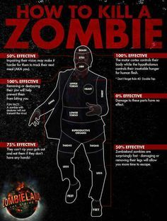 Survival Zombie Apocalypse:  #Survival ~ How to Kill a #Zombie.