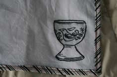 I've been looking for egg cup fabric forever. This is just a tease....Friuduric - Flickr