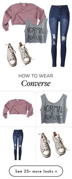 """""""Un-named#2"""" by cfull on Polyvore featuring Converse"""
