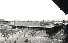 La stazione nel 1960 - foto archivio storico FS, Giovanni Michelucci 1932