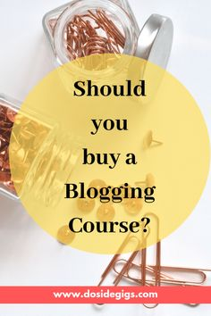 Courses, courses, courses everywhere. Should you buy a blogging course? Or should you join a free one? Here's a detailed study. #bloggingtips #blogging #blogging101 #bloggingasbusiness Top Blogs, Best Blogs, Website Ranking, Build A Blog, Creating A Blog, Virtual Assistant, Blogging For Beginners, How To Make Money, Marketing