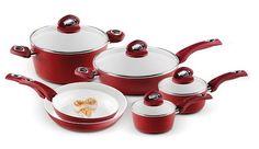 Bialetti Aeternum Nonstick 10-Piece Cookware Set