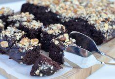 Recept: csodásan csokis, lisztmentes brownie – Masni Dekoráció Brownie, Healthy Sweets, Muffin, Paleo, Cooking, Desserts, Food, Kitchen, Tailgate Desserts