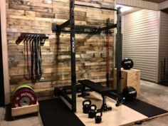 home gym garage * home gym & home gym ideas & home gym ideas small & home gym decor & home gym design & home gym ideas garage & home gym garage & home gym ideas basement Home Gym Basement, Home Gym Garage, Diy Home Gym, Gym Room At Home, Home Gym Decor, Best Home Gym, Crossfit Garage Gym, Basement Bathroom, Basement Ideas