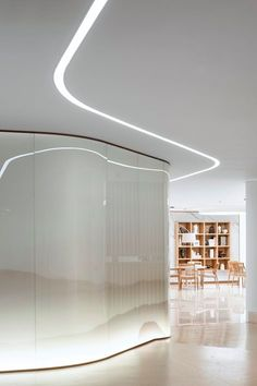 General Information Project name:Beijing TRT Cuihe Healthcare Experience CenterArchitecture Firm:AFFD Space Design. Lobby Interior, Interior Architecture, Interior Design, Lighting Concepts, Lighting Design, Feature Wall Design, Feature Walls, Kempinski Hotel, Interior Inspiration