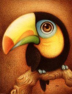 Милые рисунки животных от художника под ником Fabo