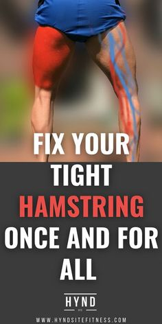 Hamstring Pull, Hamstring Workout, Best Hamstring Stretches, Hip Strengthening Exercises, Knee Exercises, Exercises For Hamstrings, Gym Workouts For Men, At Home Workouts, Tight Hamstrings
