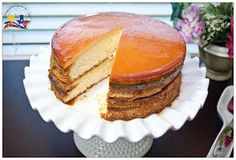 Pinay In Texas Cooking Corner: Guest Post on Wok With Ray Featuring Filipino Custard Cake