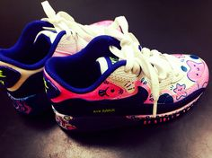 nike airmax graphic work for my daughter