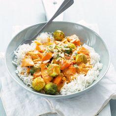 Sweet Potato, Recipies, Vegan Recipes, Curry, Food And Drink, Veggies, Low Carb, Potatoes, Vegetarian